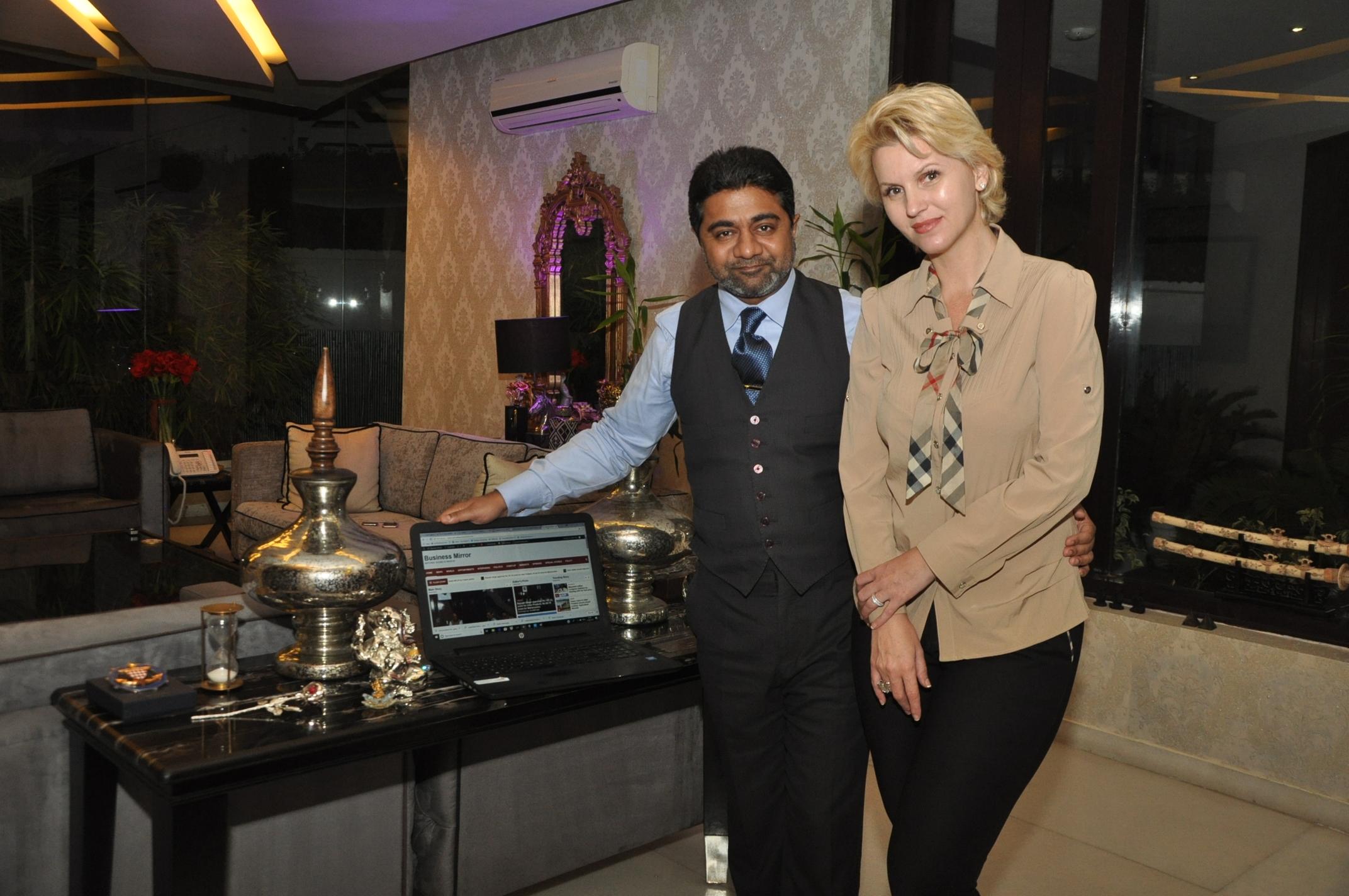 Billionaire couple Abhishek Verma, Anca Verma launch new business portal-NationalBusinessMirror