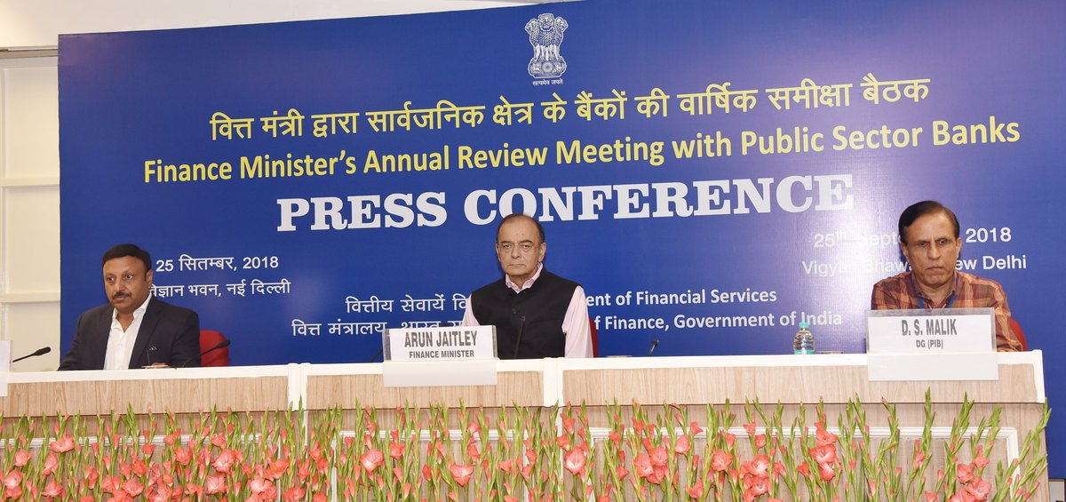 Arun Jaitley asks PSU banks to take effective action against frauds, wilful defaults