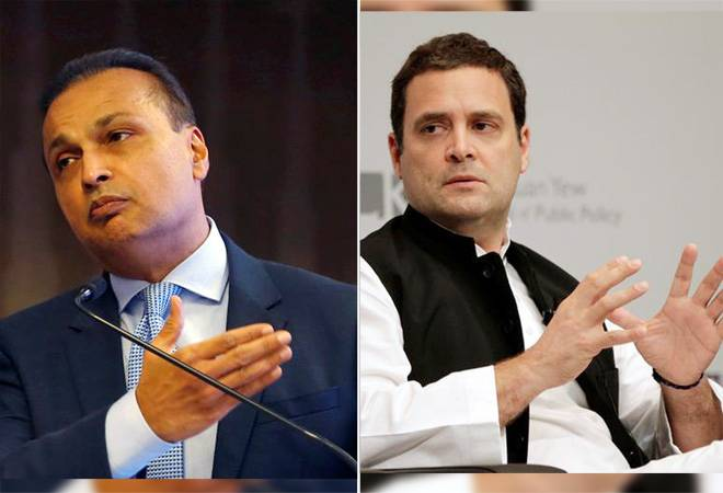 "UPA gave projects worth 1 lakh crores"": Reliance Group jabs Rahul Gandhi"