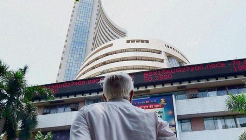 Sensex ends 81 points lower; financial stocks drag