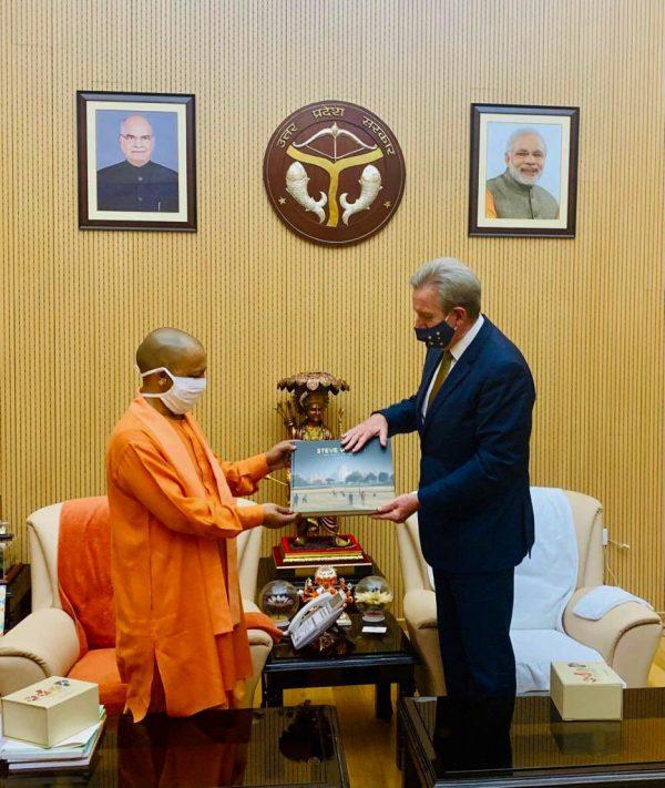 Uttar Pradesh Chief Minister meets Australian high commissioner