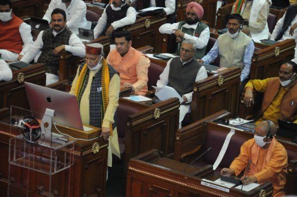 Yogi Adityanath government tables Rs 5,50,270 crore budget to make Uttar Pradesh 'atmanirbhar'