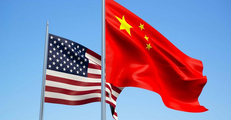 China says can't hold USA trade talks with 'knife to the throat'