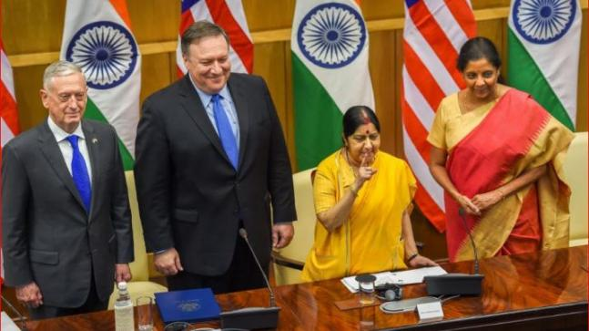 First 2+2 Dialogue consequential and a strategic milestone, says US official