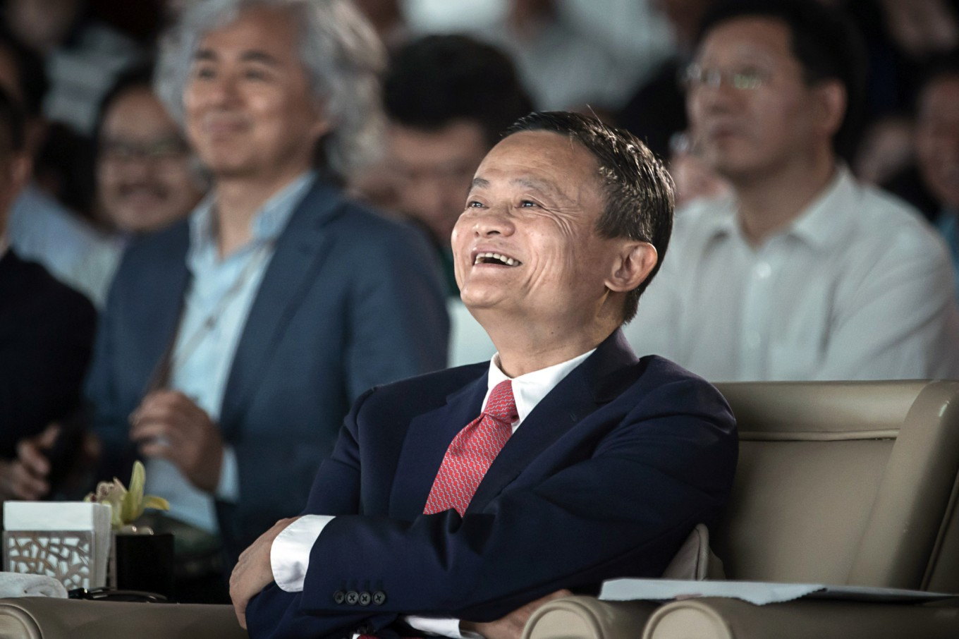Jack Ma will remain Alibaba's executive chairman for now
