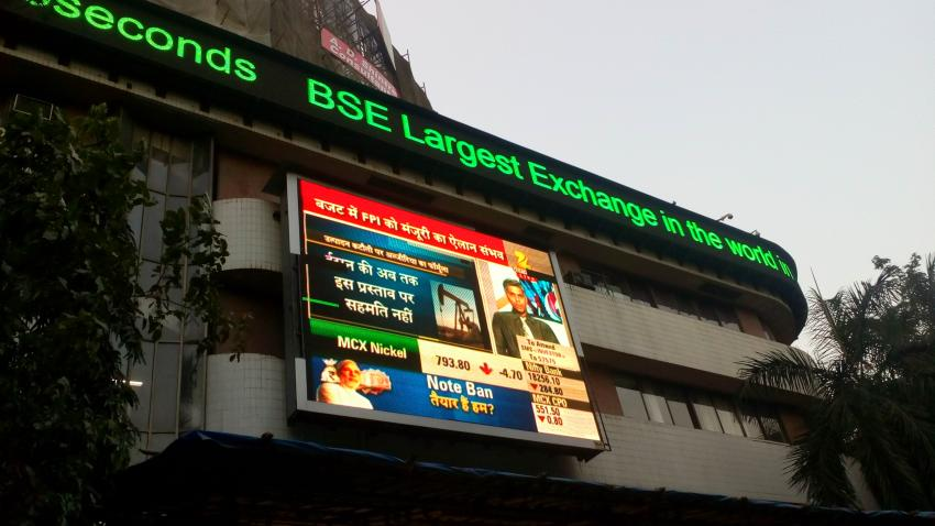 Nifty ends below 11,000 mark, down 47.10 points