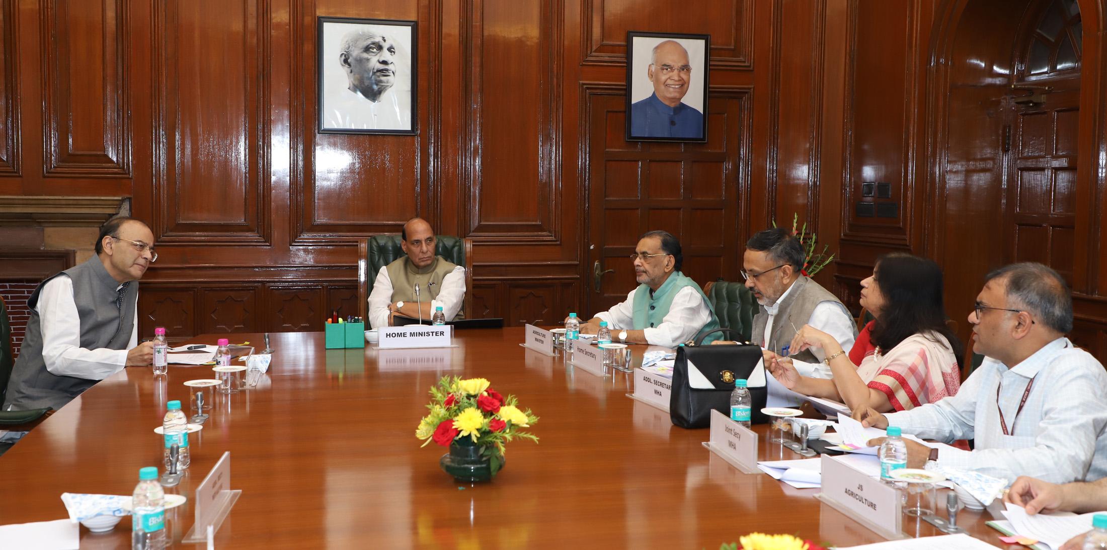 Rajnath Singh approves Rs 157.23 crore for Uttar Pradesh, Rs 60.76 crore for Maharashtra