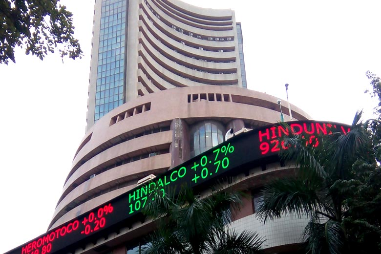 Sensex falls 175 points on rupee woes, rising crude prices