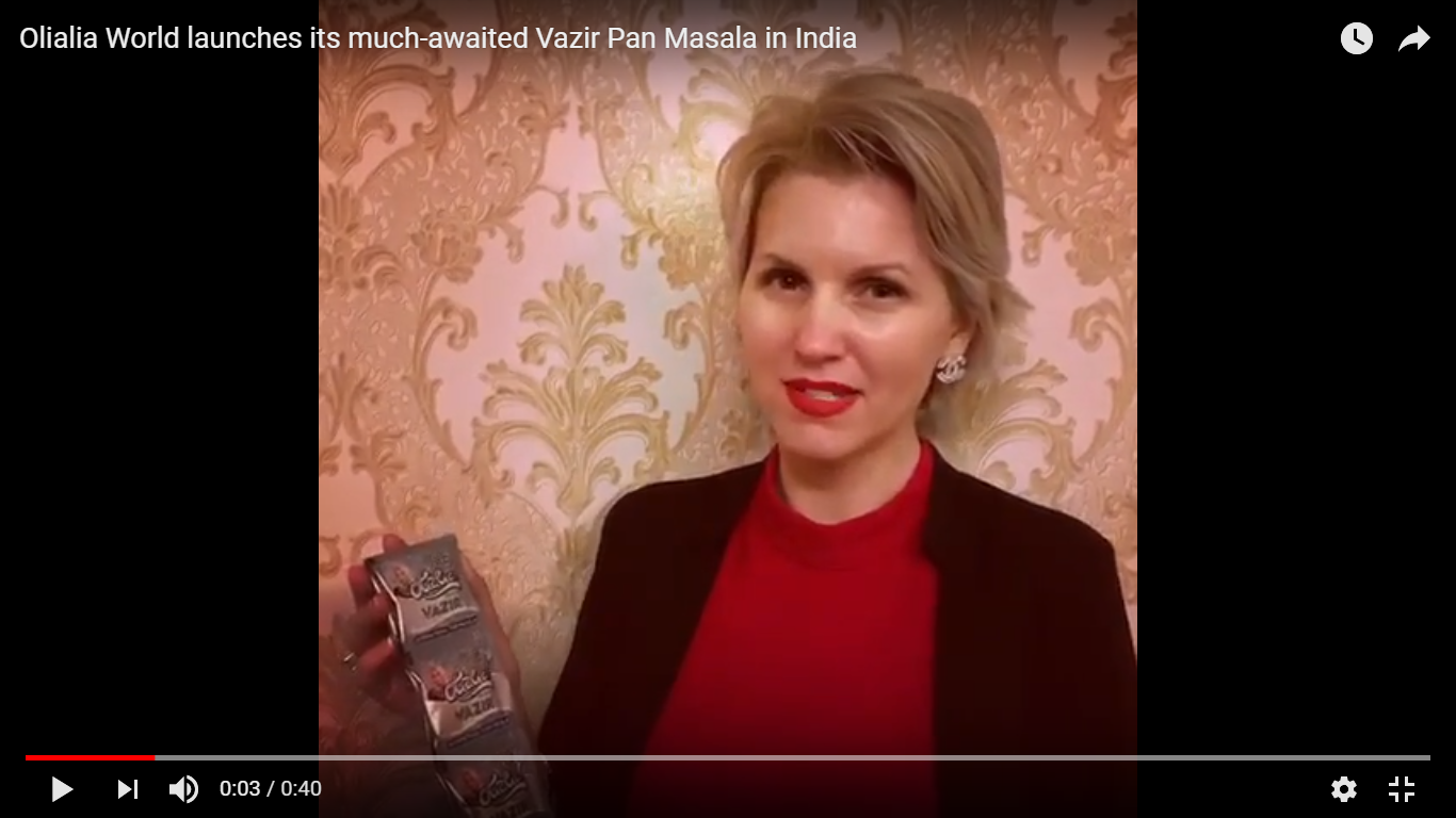 Olialia World launches its much-awaited Vazir Pan Masala in India