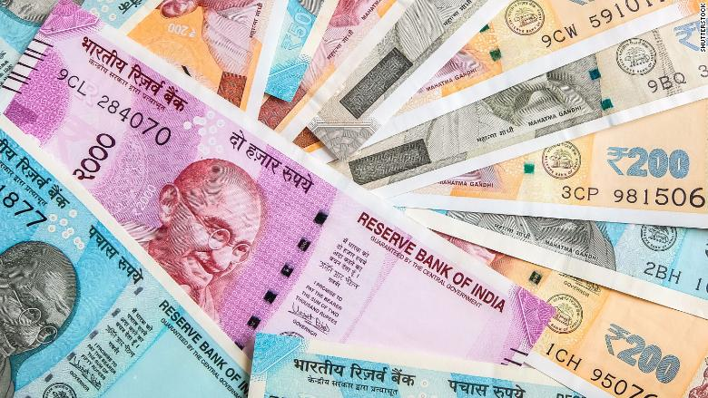 Indian Rupee registers biggest single-day gain in 5 years to close at 72.45