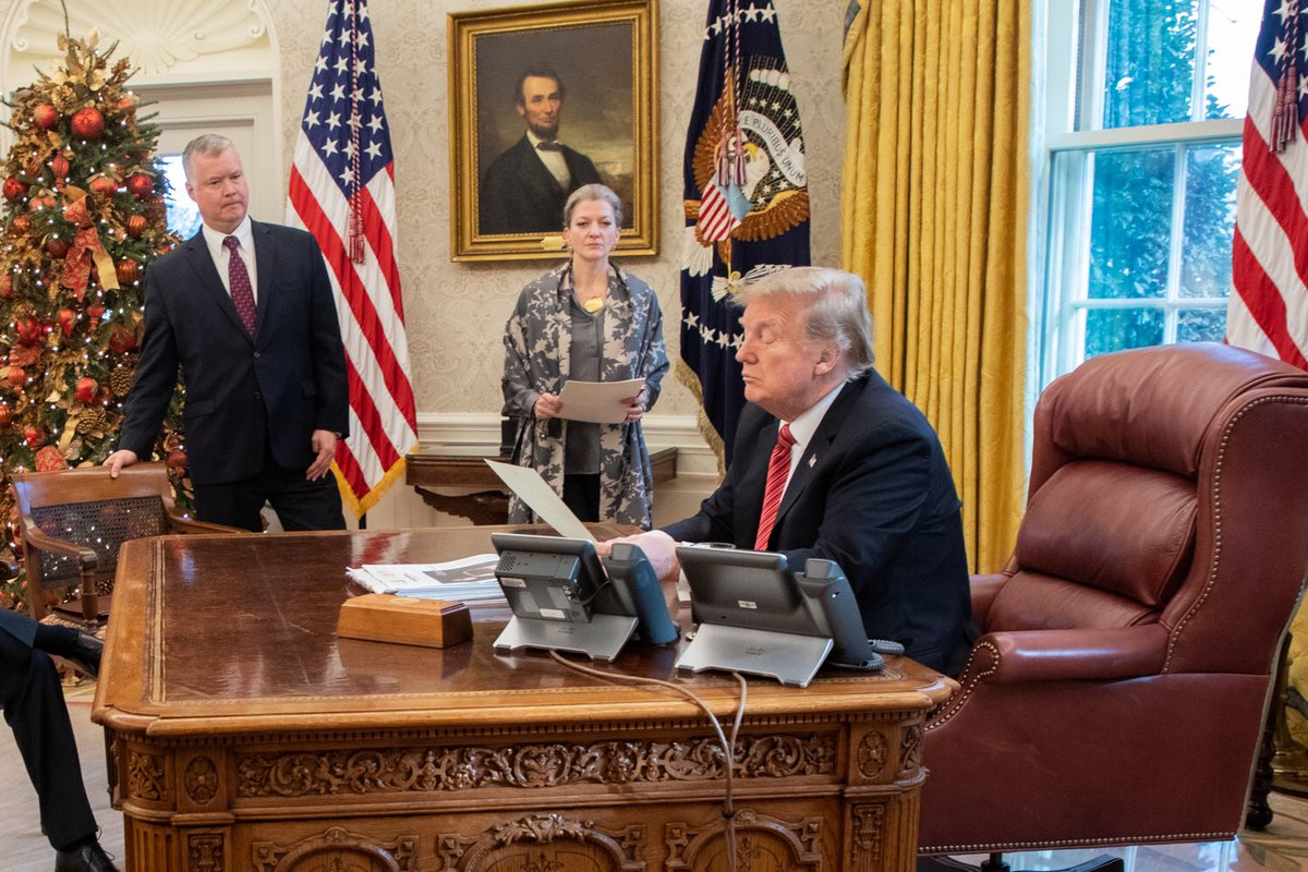 Donald Trump says I am all alone in White House