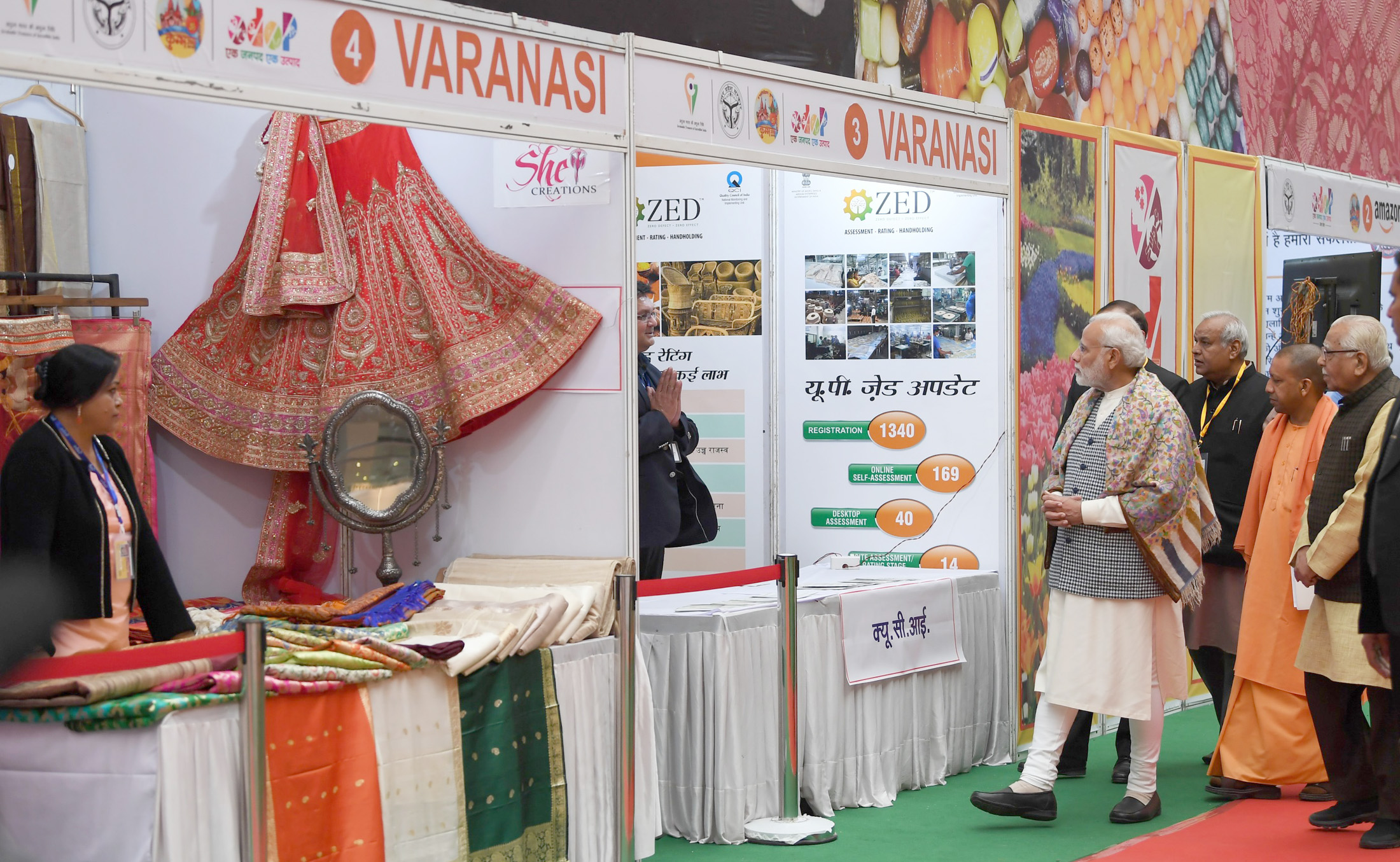 Prime Minister visits One District, One Product Exhibition