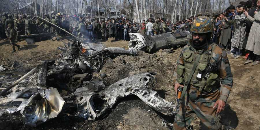Was Mi17 chopper shot down by own defence system?