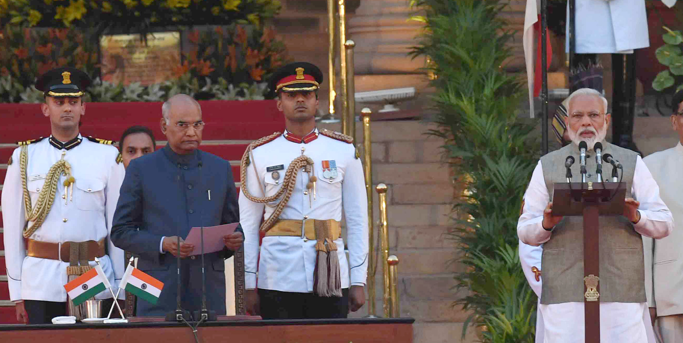 Narendra Modi takes oath as Prime Minister of India for second term with 57 Ministers