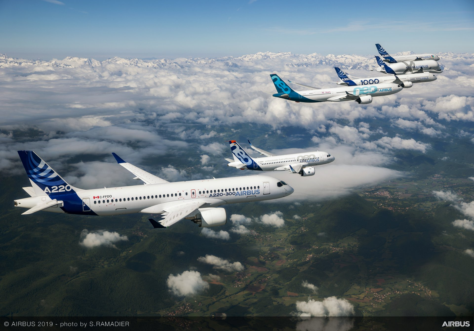 Airbus sees strong demand for its new commercial aircraft products at Paris Air Show 2019