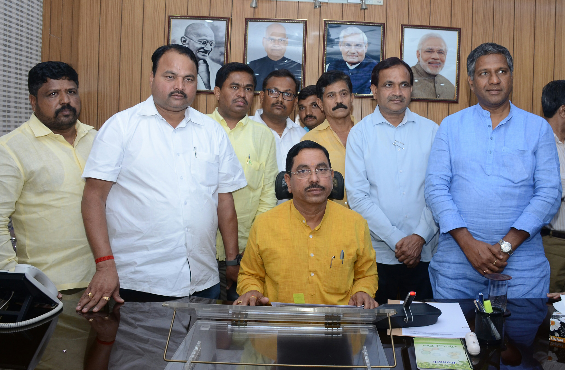 Pralhad Joshi takes charge as new Minister of Coal