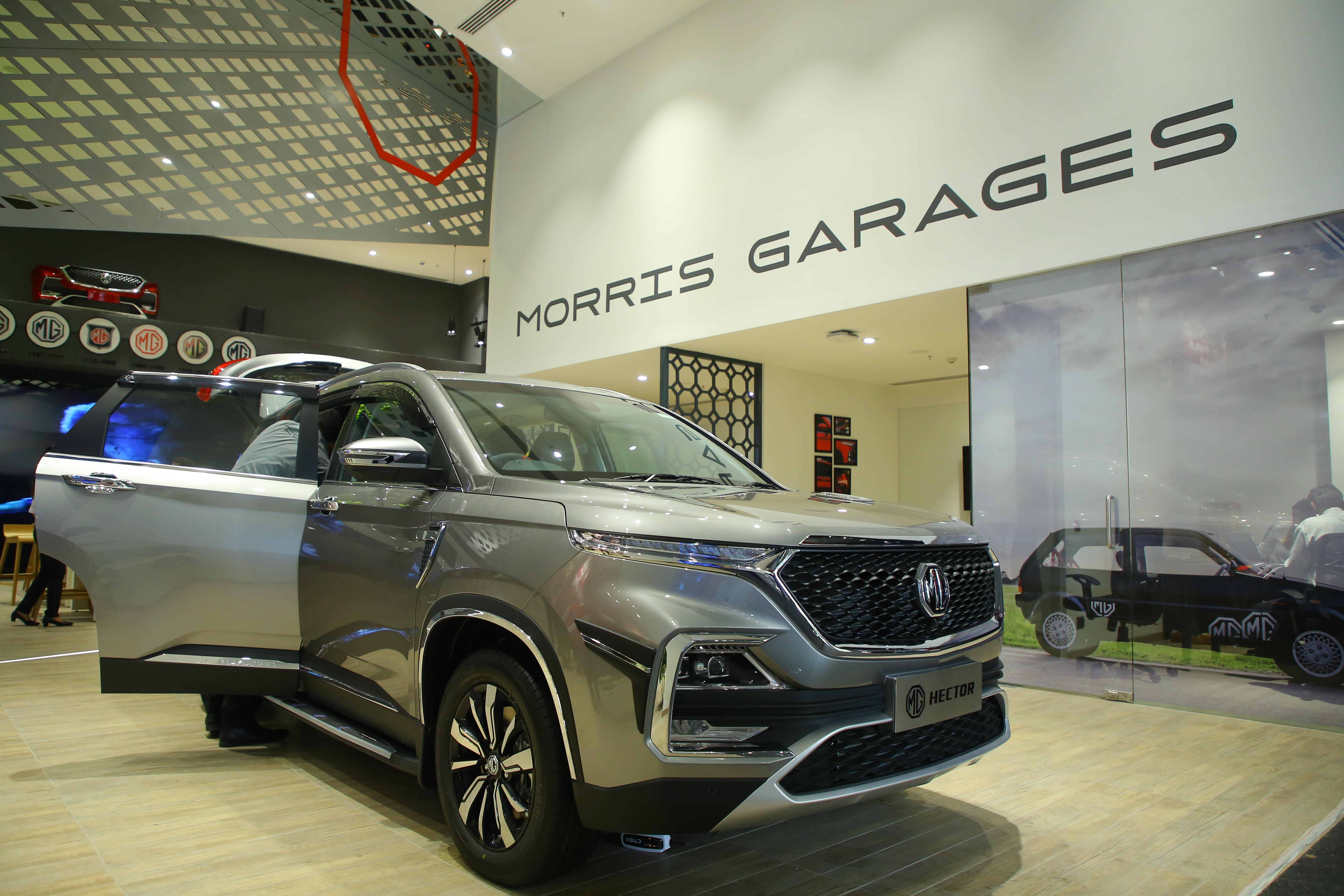 MG Motor India inaugurates its first flagship experience store