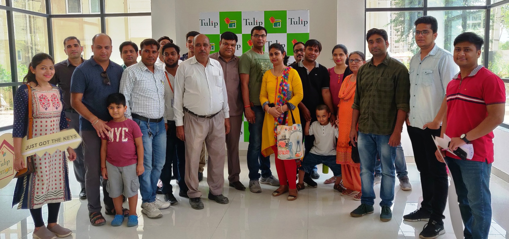 Tulip Infratech hands over possession of Tulip Lemon Affordable Housing