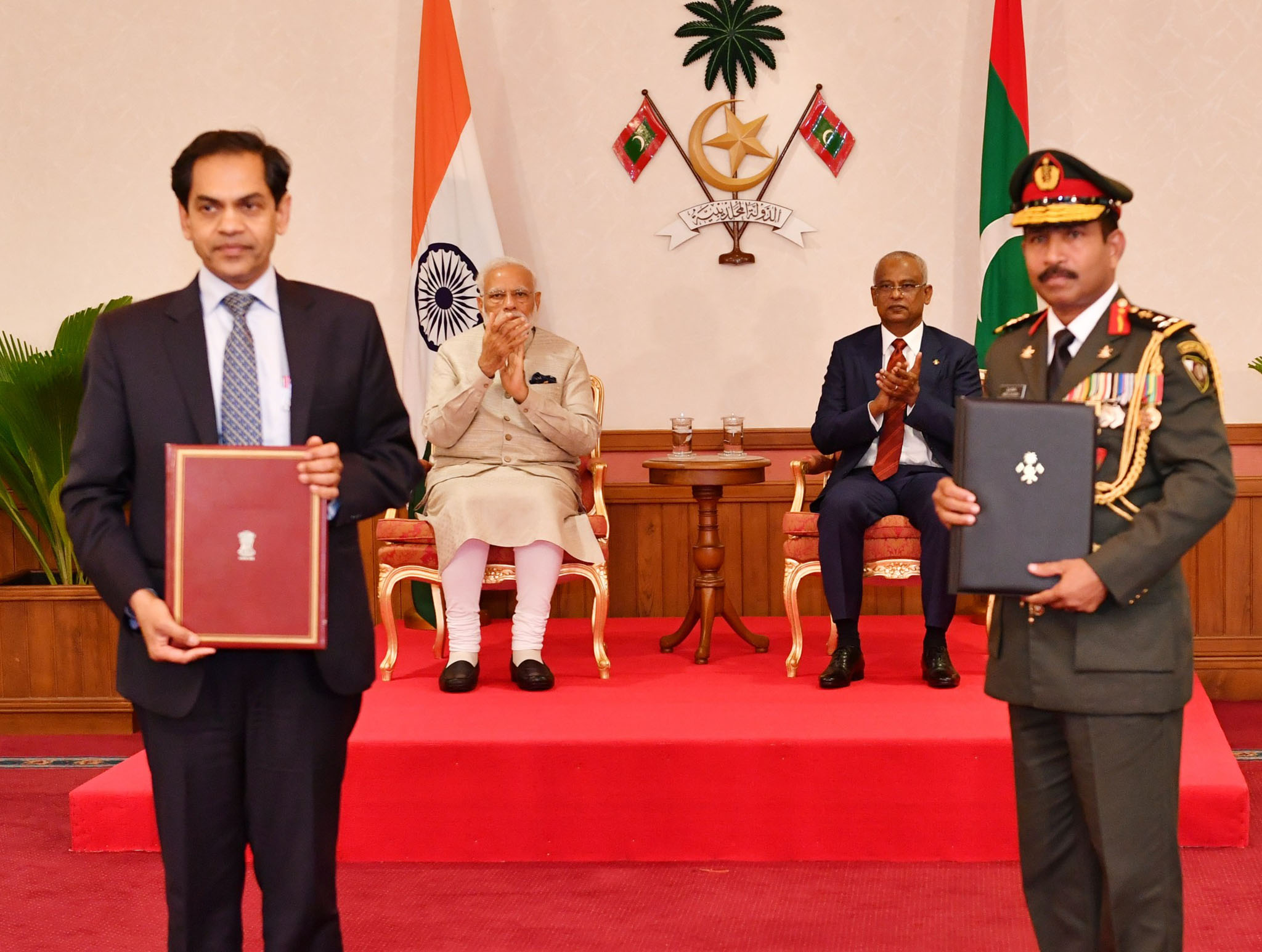 List of agreements signed during the state visit of Prime Minister Narendra Modi to Maldives