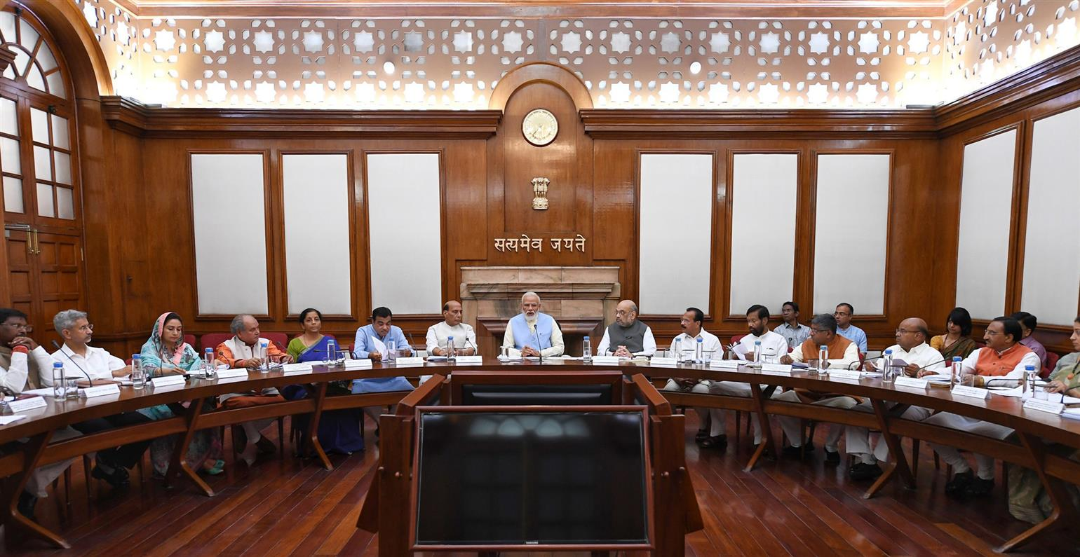 Rajnath Singh now put on 6 Cabinet Committees after reworks