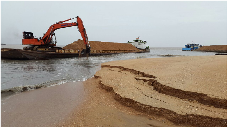 Andhra Pradesh government stops sand mining with immediate effect