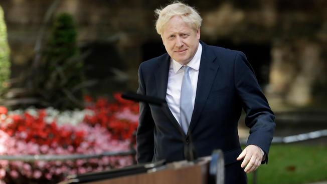 France's Emmanuel Macron invites British PM Boris Johnson to visit