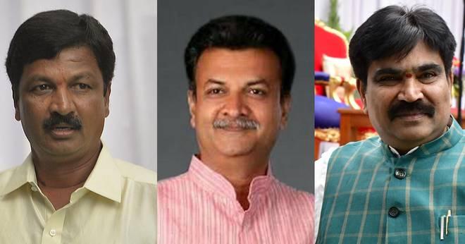 Karnataka Assembly Speaker disqualifies three rebel MLAs