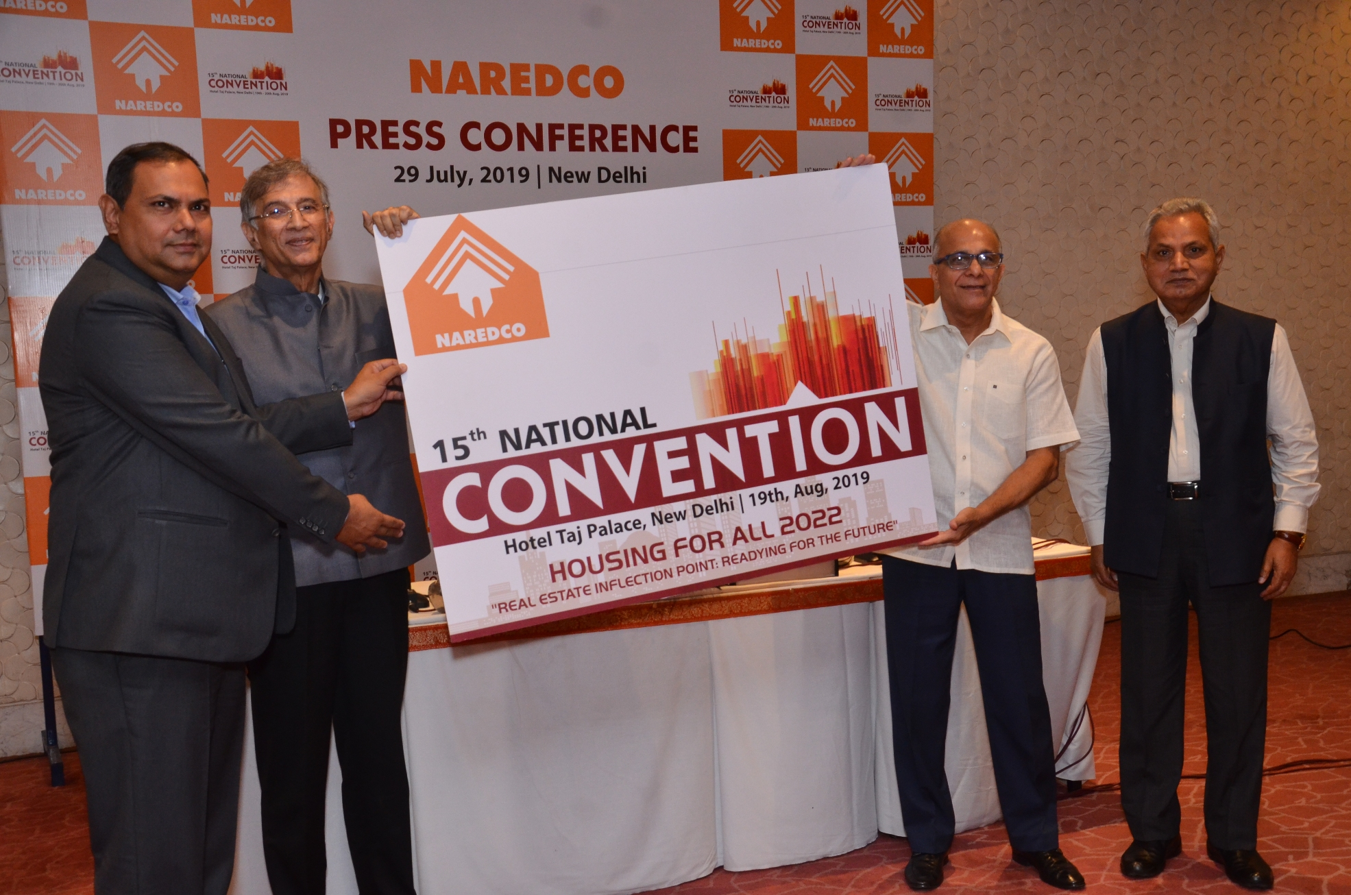 Innovative funding solutions, new growth avenues and technology upgrade to help the sector revive: NAREDCO