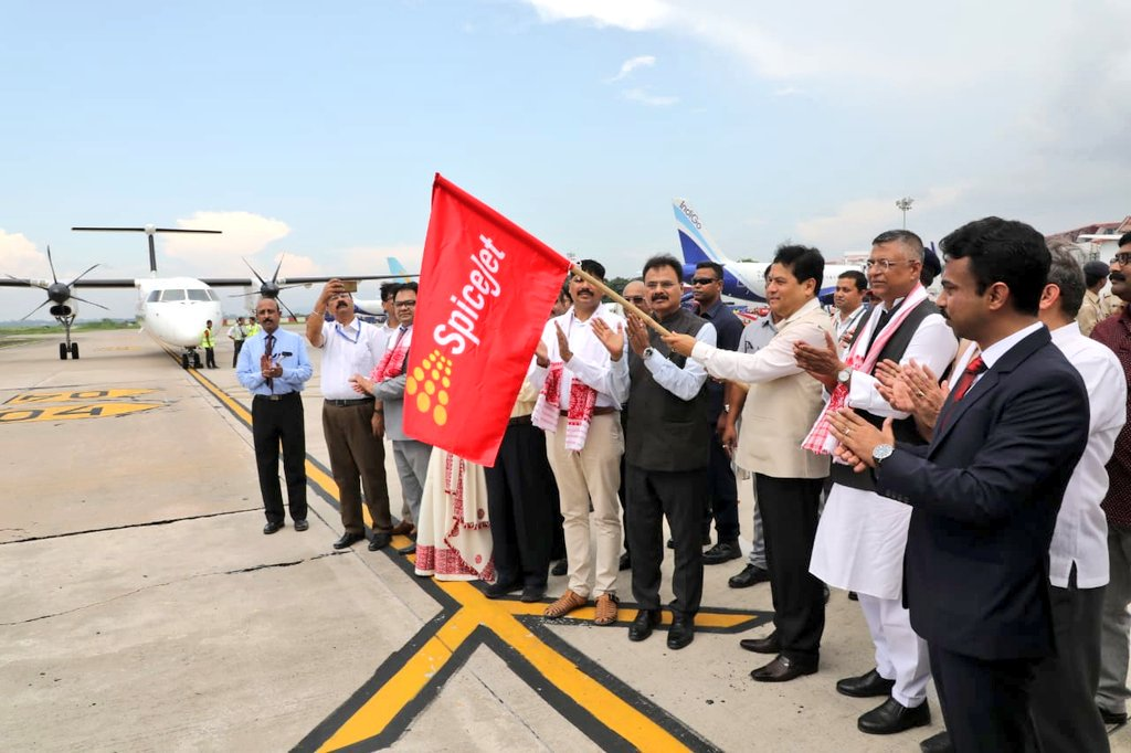 SpiceJet starts daily direct flight between Guwahati and Dhaka