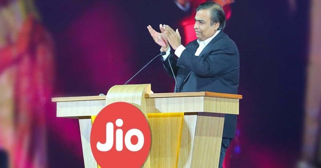 Reliance Jio overtakes Bharti Airtel to become India's 2nd-largest operator