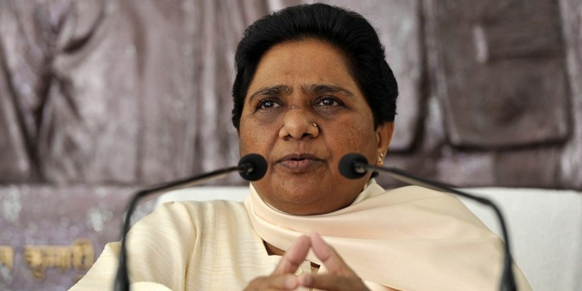 Make source of funds received during elections 'public': Mayawati to BJP