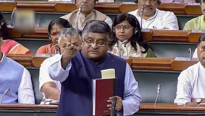 Government working out package for BSNL, MTNL: Ravi Shankar Prasad in Parliament
