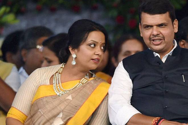 BJP's Devendra Fadnavis pushed Maharashtra Police to open accounts in bank,where wife is VP