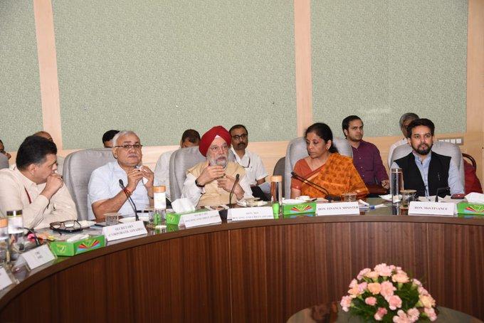 Finance Minister meets realtors, homebuyers; govt says will address issues ailing sector