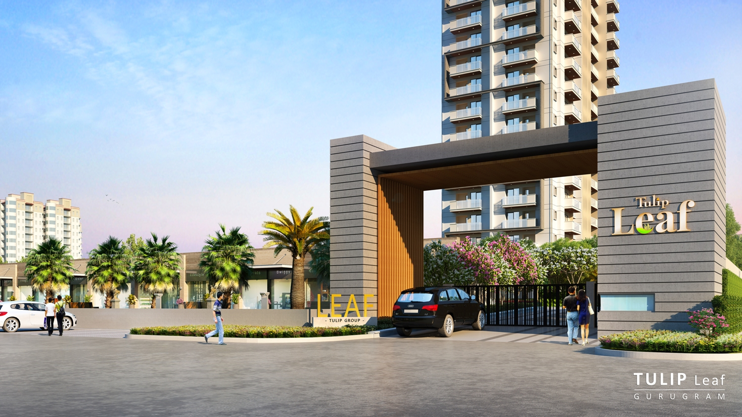 Tulip Infratech launches Luxury Project-Tulip Leaf' at Southern Peripheral Road