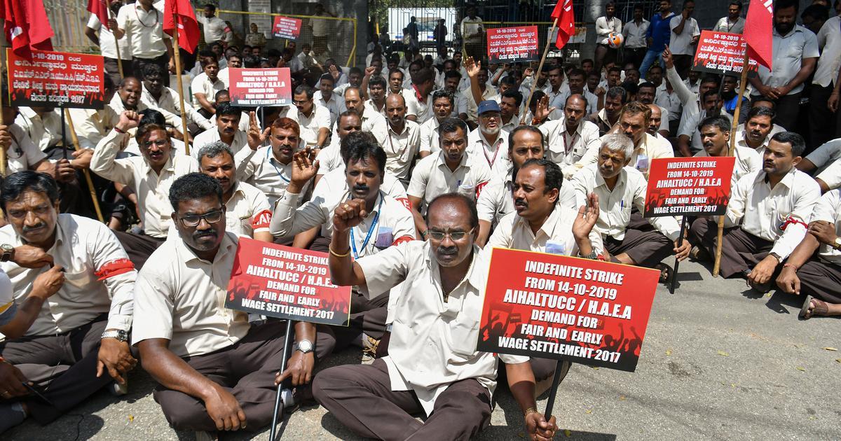 Hindustan Aeronautics Limited employees' strike continues