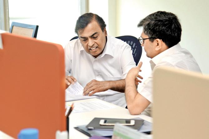 Mukesh Ambani to set up Alphabet-like $15 billion digital company