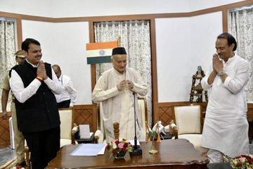 Devendra Fadnavis back as Maharashtra Chief Minister,Ajit Pawar Deputy Chief Minister