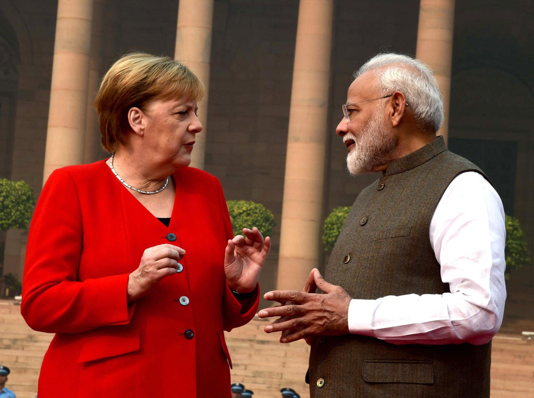 Kashmir situation 'not sustainable', needs to change, says Angela Merkel
