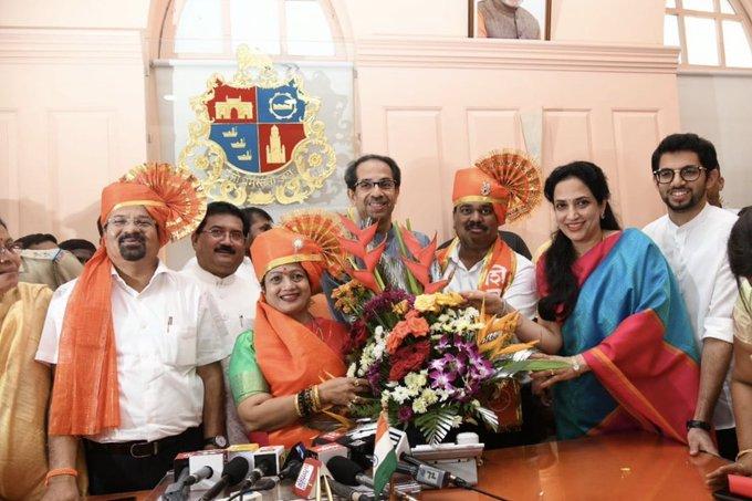 Shiv Sena's Kishori Pednekar elected unopposed as Mayor of Mumbai civic body
