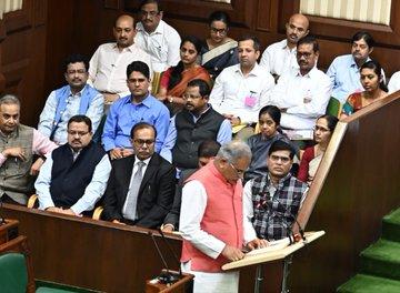 Bhupesh Baghel presents Rs 95,650-crore budget for Chhattisgarh