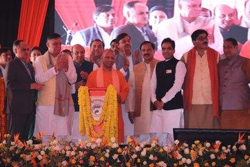 Noida residents' per capita income higher than that of Delhiites: Yogi Adityanath