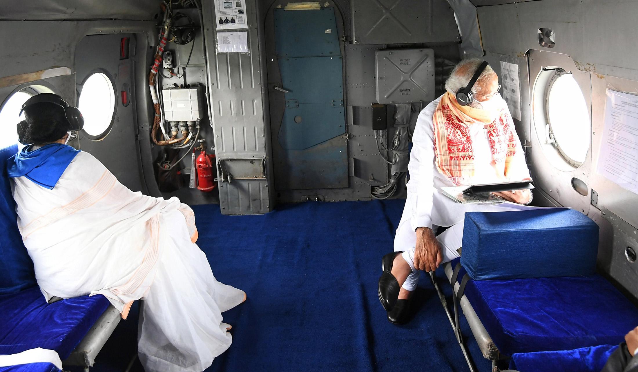Narendra Modi announces interim relief of Rs 1,000 crore to Amphan-hit West Bengal