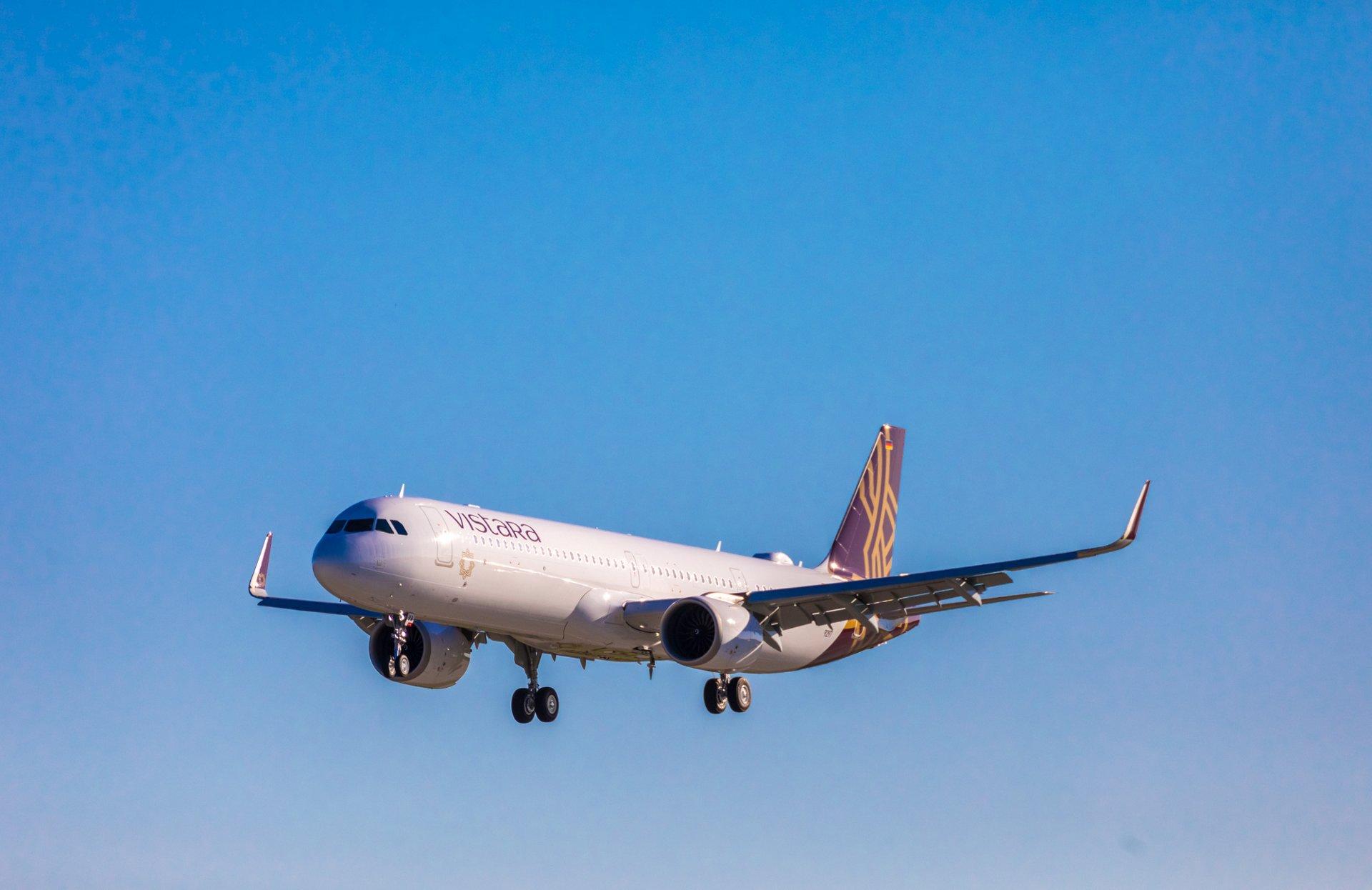 Vistara receives its first A321neo aircraft with flat-bed business class