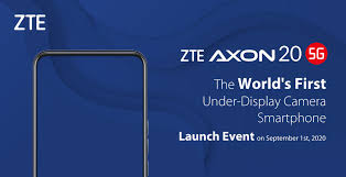 ZTE to launch industry's first 5G smartphone on September 1