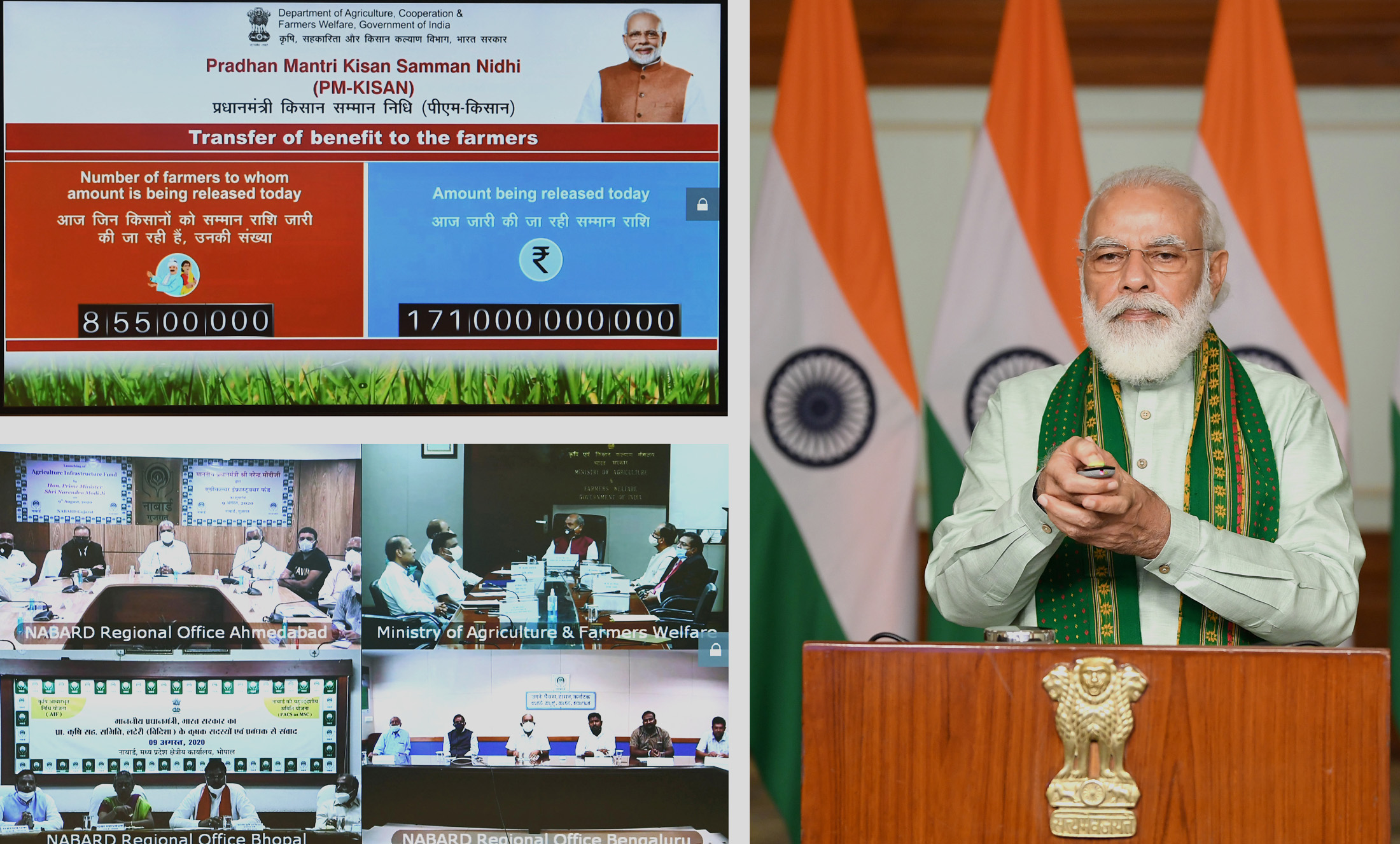 India launches Rs 1 lakh crore-financing facility under Agriculture Infrastructure Fund