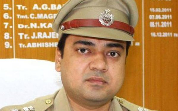 Yogi Adityanath suspends Allahabad SSP