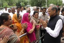 Making efforts to fulfil promises made to Rajasthan people: Ashok Gehlot