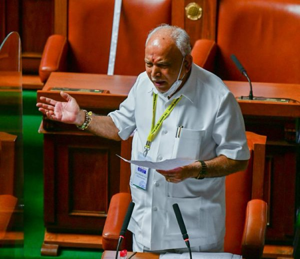 B. S. Yediyurappa says will ensure Congress sits in opposition for next 10 years