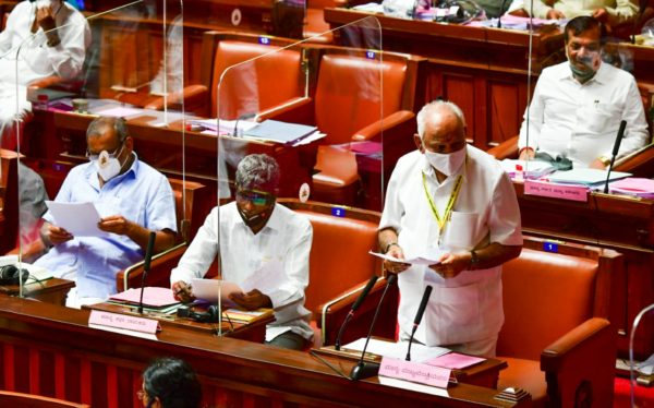 Move no-confidence motion every 6 months, Yediyurappa dares Congress